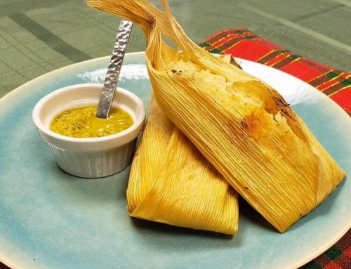 Flavor House Holiday Tamales by Tim Love Catering!